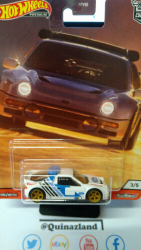 Hot Wheels Car Culture Thrill Climbers Ford RS 200 NG47