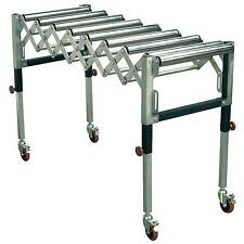 Sealey Adjustable Roller / Rolling Work Stand 450-1300mm 130kg Capacity - RS911F