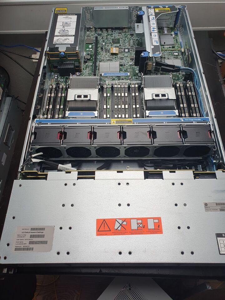 Server, HP DL380p g8, 2xE5-2680