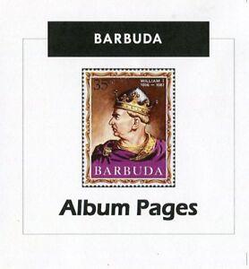 Barbuda-CD-ROM-Stamp-Album-1922-2000-Album-Pages-Classic-Stamps-Illustrated