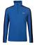 XL Gelert Atlantis Micro Fleece Mens Blue Quarter Zip Hiking Walking M L