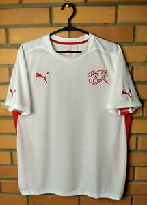 Switzerland Jersey MEDIUM Shirt Puma Football Soccer