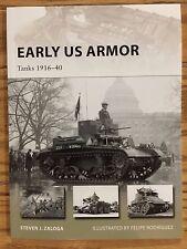 Early US Armor: Tanks 1916-40 OSPREY PUBLISHING