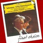 First Choice: Schumann; Grieg: Piano Concertos (CD, Mar-2012, DG Deutsche Grammophon)