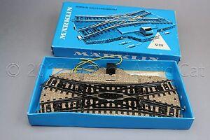 Y074-Marklin-train-Ho-M-5128-aiguillage-electromagnetique-traversee-Marklin