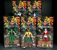 DC DIRECT IDENTITY CRISIS SERIES 1 5 FIGURE SET DEADSHOT HAWKMAN DR. LIGHT D96
