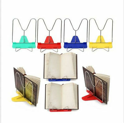 2018 Book Holder Stand Portable Adjustable Angle Document Reading Foldable