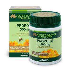 Australian-by-Nature-Propolis-Capsules-500mg-365-Capsules