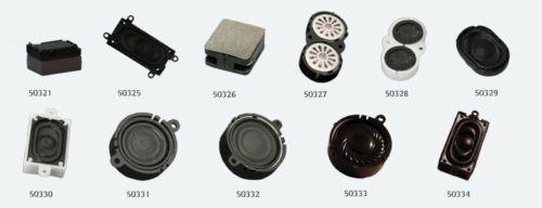 ESU 50321 Altoparlante 15mm x 11mm x 3.5mm rettangolare 8 ohm con schallkapselset