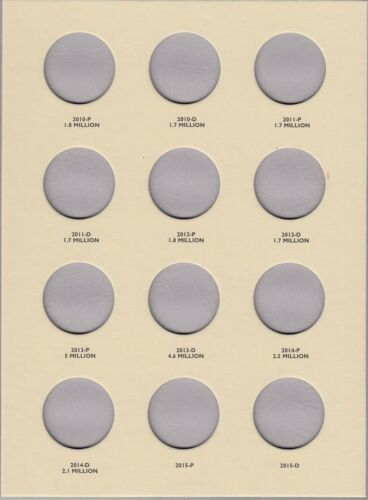 Coin Folder for 2004-Date Kennedy Half Dollars LCF33 Quality Album by Littleton