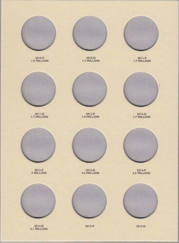Coin Folder for 2004-Date Kennedy Half Dollars LCF33 Quality Album by Littleton