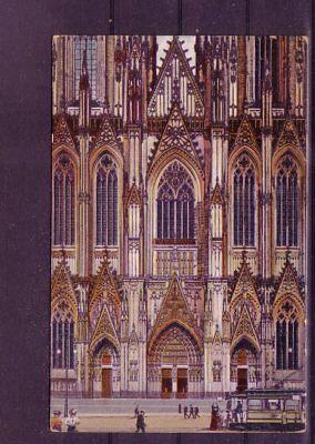 europa:11336 dom- Logisch Gelaufene Ansichtskarte Köln