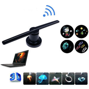 Details about 3D 224LEDs WiFi Holographic Projector Display , Fan Hologram  Player Advertising
