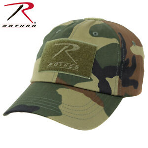 936d250bd56 Image is loading Woodland-Camouflage-Military-Low-Profile-Adjust-Tactical- Hat-