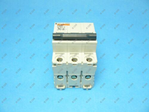 Merlin Gerin MG24141 DIN Rail Supplemental Circuit Breaker 3 Pole//2 Amp//480YV