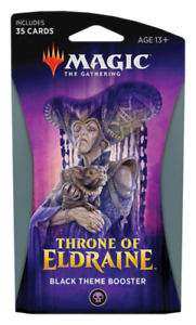 Throne-of-Eldraine-Theme-Booster-Pack-BLACK-Magic-the-Gathering-MTG