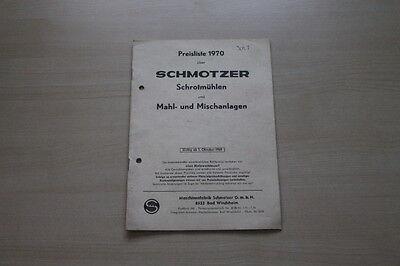 Preise & Extras 2019 Neuer Stil 163693 Prospekt 10/1969 Freigabepreis Schmotzer