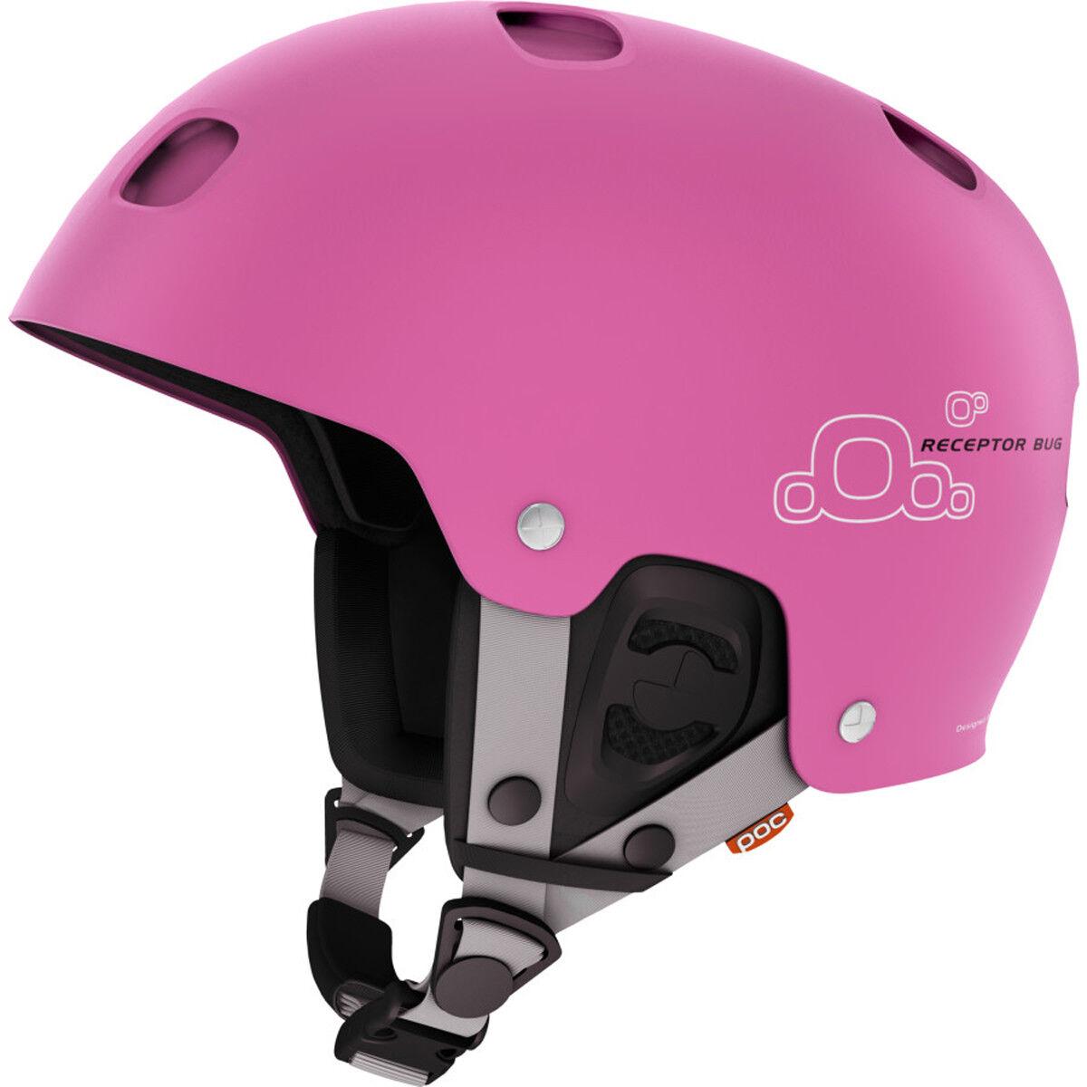 Poc Adult Receptor Bug Ski Skiing Snow Helmet Actinium cm rosa Medium M 55 56 cm Actinium 12d9fb