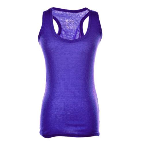 Frauen-Dame Comfy Sports Gym Running Vest Jogging Yoga Tanktop M Bc