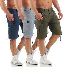 Big Seven Brian Cargo Comfort Fit Herren Shorts Bermuda Hose Jeans
