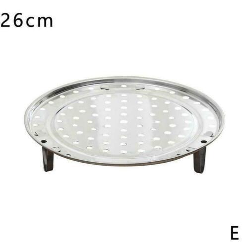 Antirust Steamer Plate Rack 3 Stands Insert Stock Pot Kitchen Tool V0U2