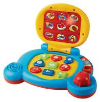 Vtech Baby's Learning Laptop, Blue, New, Free Shipping