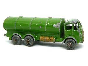 Matchbox-Lesney-No-11a-Erf-Petrol-Tanker-muy-raro-verde