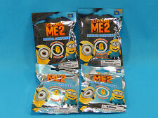 4x Despicable Me 2 Minion Surprise Blind Bag Mystery Mini Figures Sealed
