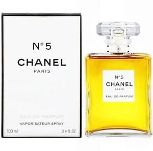0d3cc6e9ea2 CHANEL NO.5 Eau De Parfum 3.4oz 100ml Women s Parfum Spray FAST FREE ...