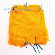 100 Raschelsäcke Obstsäcke Gemüsesäcke Kartoffelsäcke Sack Zugband 5kg 30x50cm