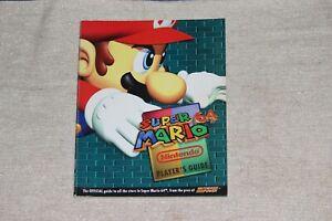 Super-Mario-64-Player-039-s-Guide-from-Nintendo-Power-Official-Nintendo-GOOD