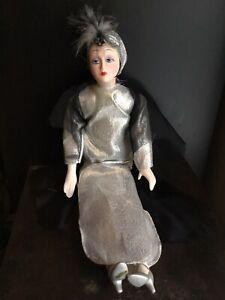 Poupée Belombre en Porcelaine faite à la main faite en Italie poupée italienne