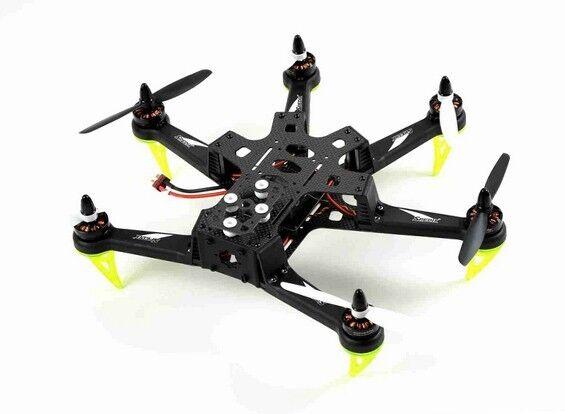 Spedix S250 autobon  Fiber Agility Hexacopter ARF Version CC3D +ESC +Motors +Props  qualità di prima classe