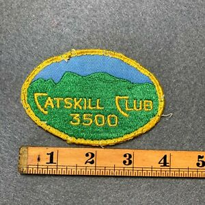 Vintage Catskill 3500 Club Mountains Hiking Patch D9