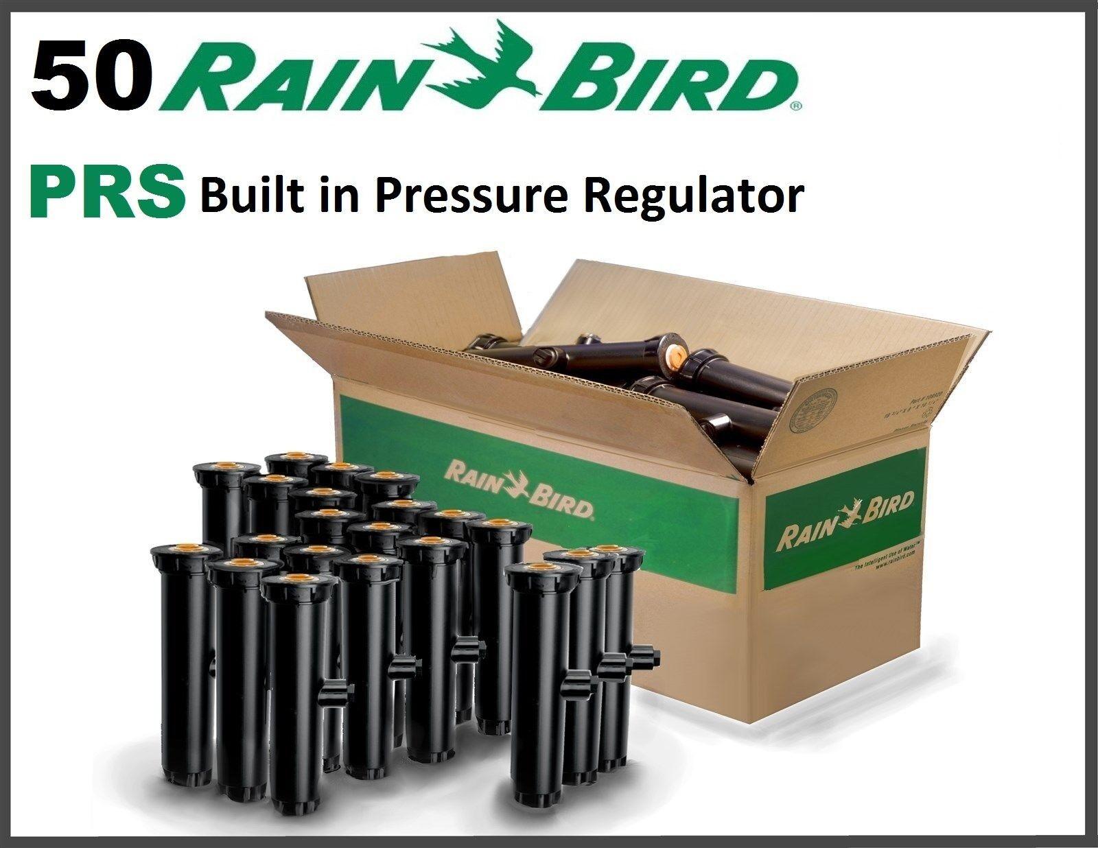 50 Rainbird 1806-PRS 6  Spray Spray Spray Body Sprinkler Pop Up Pressure Regulator Built In 4ec990