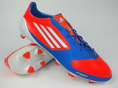 Adidas Mens Rare F50 adizero TRX FG SYN V21436 Orange Blue Cleats Boots | eBay