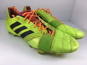 0033d37e5990 adidas NitroCharge 1.0 Men US 13 Neon Firm Ground Soccer Cleats ...