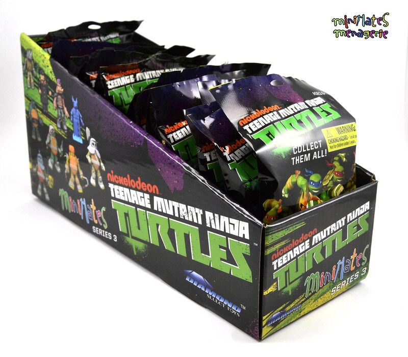 Teenage Mutant Ninja Turtles Minimates Series 2 Counter Counter Counter Dump Sealed Case of 18 97ce41