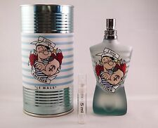 Jean Paul Gaultier Popeye Eau Fraiche 5 ml 0.17 oz SAMPLE Glass Travel Atomizer