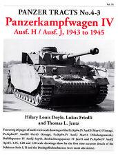 PANZER TRACTS NO. 4-3 PANZERKAMPFWAGEN IV Ausf. H, Ausf. J, 1943 TO 1945