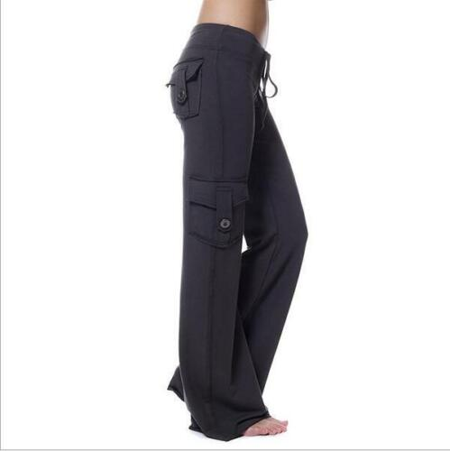 Stretchy Soft Eco-friendly Bamboo Pocket Yoga Pants