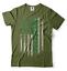St Patrick/'s Day Irish American Flag T-shirt St Patricks Day Irish T shirt