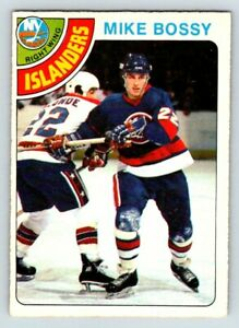 1978-79-O-PEE-CHEE-MIKE-BOSSY-Vintage-ROOKIE-RC-Card-115-New-York-Islanders-BV