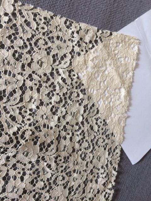 A5 Antique LACE Salvage 20s 30's Cantu Style French German Dolls Clothes Costume