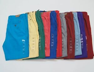 TOMMY-HILFIGER-Men-Light-weight-Cotton-Slim-Fit-Colored-Chino-Pants-NEW-NWT
