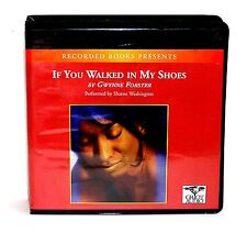 BOOK/AUDIOBOOK CD Gwynne Forster IF YOU WALKED IN SHOES