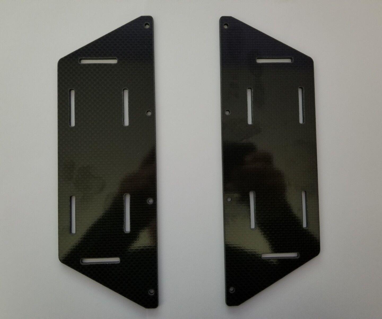 HOBAO Tev 1 8 bandejas de batería de fibra de carbono SAGA OFNA MUGEN SERPENT TRAXXAS
