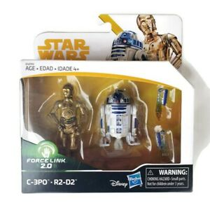 Star-Wars-Force-Link-2-0-C3PO-R2-D2-Toys-R-Us-Exclusive-Disney-Hasbro-NEW