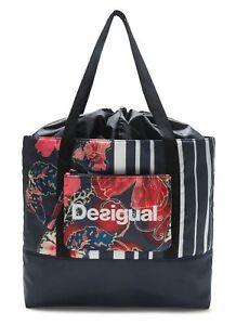Pocket Bag Patch Desigual Carry Peacoat q4ROxtzn