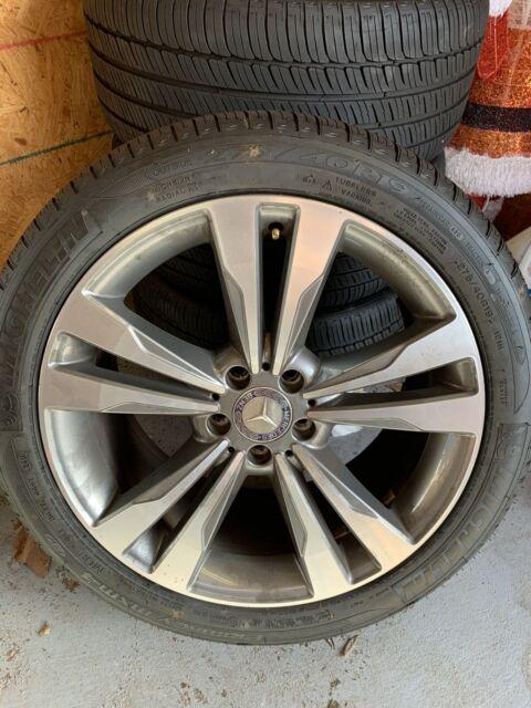 "19"" S550 Staggered Mercedes Benz OEM Rims & Run flat Tires. | eBay"